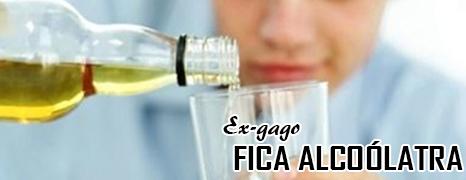 EX-GAGO FICA ALCOÓLATRA