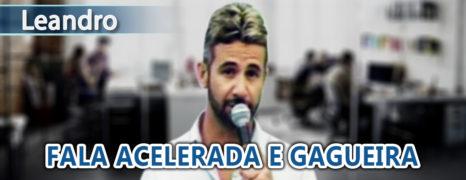Cura da Gagueira, Fala Acelerada e a Timidez do Empresário Leandro no Tratamento Online
