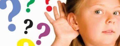 Gravações especiais com áudio e vídeo para estimular as criança com baixa auditiva a falar