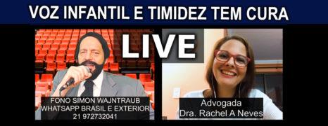 Timidez e Fobia Social Tem Cura Live Paciente Rachel A Neves