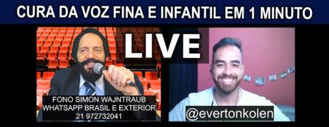 Voz Fina Tem Cura Live Com Paciente Everton Colen Confira