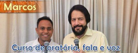 Curso de Oratória Com Argumentação Sob Pressão Faz Fisioterapeuta Marcos Lyra falar em público