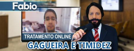 Tratamento Online para Gagueira e Timidez do Paciente Fabio Com Simon Wajntraub
