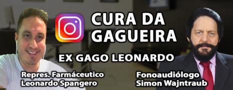 Melhora da gagueira Live Com o Paciente Leonardo Spanguero